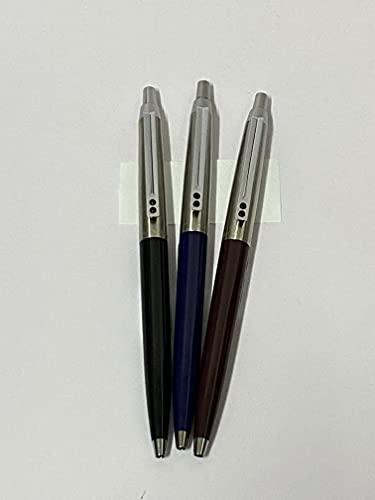 Inoxcrom 55 conjunto de 3 boligrafos. azul- negro- burdeos. Nuevos.