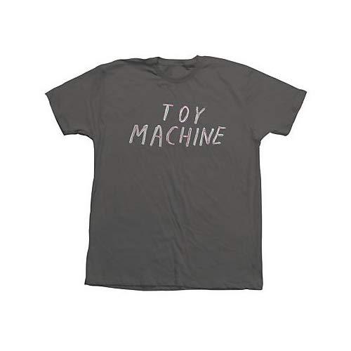 Toy Machine -  T-Shirt - Basic - Collo a U - Uomo Charcoal s