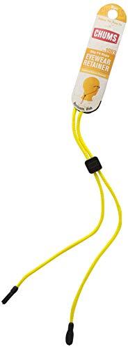 CHUMS Herren Slip Fit Rope Eyewear Retainer, 3mm, Black Seil, 3 mm, Schwarz, Farbe kann variieren, One Size Most