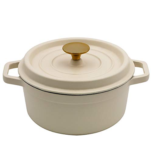 3-Quart Cast Iron Matte Dutch Oven