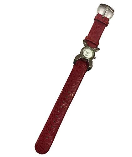 Reloj Viceroy 43528-00 de la colección Top de Mujer con Caja de Acero y Correa de Piel roja.