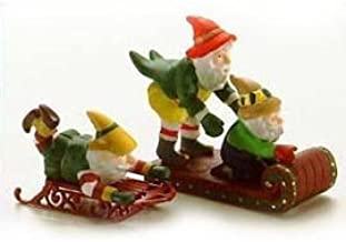 DEPT 56 NORTH POLE TESTING THE TOYS RETIRED NEW SET OF 2 # 56057