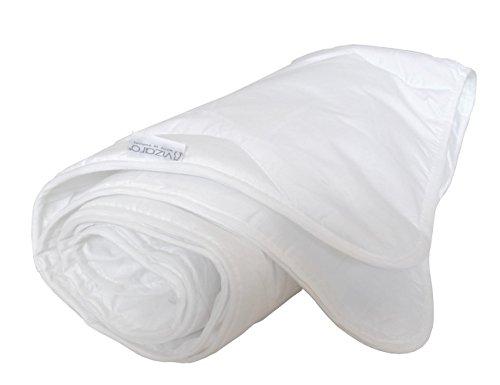 Vizaro - Duvet Pure Cotton - Summer 150g - 4,5Tog - Anti-Allergy, Anti-Mites, Anti-Mold - COT Bed 70x140 cm - Dim. 100x135cm - Made in EU - OekoTex - Safe for Babies -