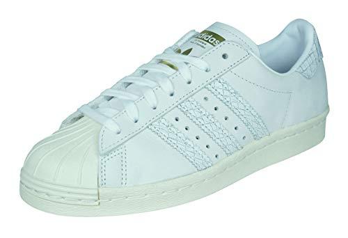 adidas Damen Superstar 80S W Fitnessschuhe, Mehrfarbig (Supcol Supcol Blacre), 36 2/3 EU