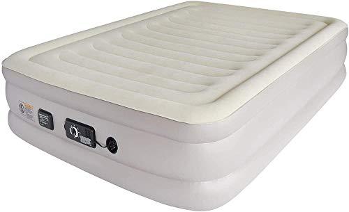 GFSDGF Materasso ad Aria Gonfiabile Premium 18 Materasso ad Aria rialzato con Doppia Pompa incorporata dal Comfort costante