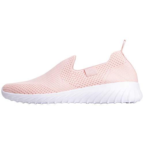 Kappa Damen Cork Sneaker, Rot (Rosé/White 2110), 37 EU