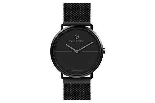NOERDEN - Reloj (conectado Life 2+, conexión Bluetooth 4.0), negro