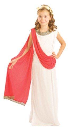 Children - Disfraz de romana para niña, talla 7-9 años (G51102M)