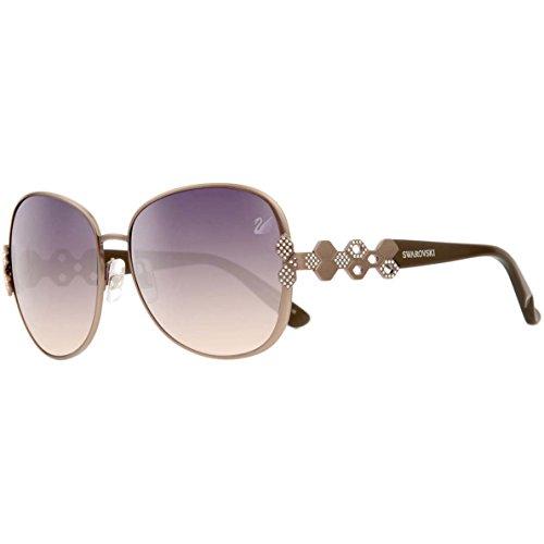 Swarovski Sunglasses Sk0073 72B-58-15-135 Gafas de sol, Gris (Grau), 58 para Mujer