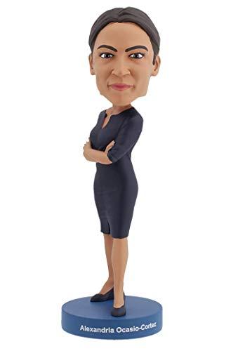 statuina Bobblehead Alexandria Ocasio-Cortez Royal Bobbles