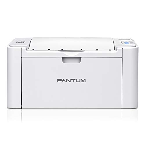 Wireless Compact Monochrome Laser Printer with Wireless Networking and Mobile Printing in Black and White, Pantum P2502W