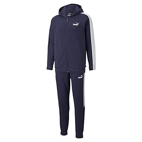 PUMA Hooded Sweat Suit FL Felpa, Caban, XXL Uomo