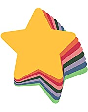 Sona Edons Cut-Out for Bulletin Board, Wall Décor, Mirror Décor (8 Assorted Colours)-Small Star Cut-Out(8 Assorted Colours)