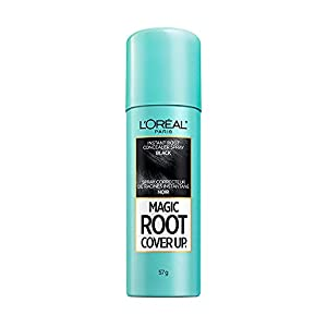L'Oreal Paris Magic Root Cover Up Gray Concealer Spray Black 2 oz.(Packaging May Vary) from Loreal Cosmetics