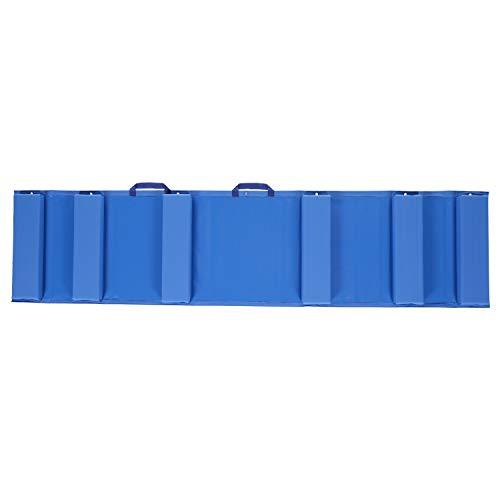 Seachoice 79206 - Guardabarros plegable para proteger su barco de daños en el muelle - portátil - tamaño grande - azul
