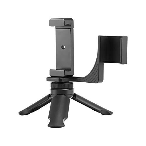 Xusuyunchuang Plegable de la cámara del trípode Soporte Extendido + Soporte for teléfono Clip de Montaje de cámara for dji Osmo Bolsillo portátil cardán