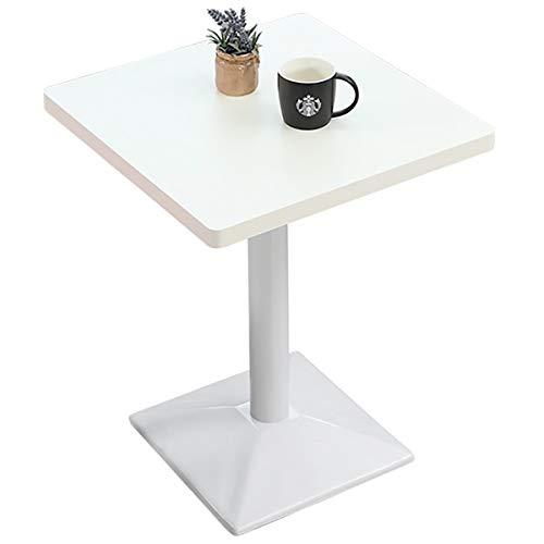 ZXYSR Table Basse Scandinave, Protection Environnementale Facile À Installer Table Bistrot Étanche Anti-Corrosion, Table Ronde 60 * 60 * 75Cm,B