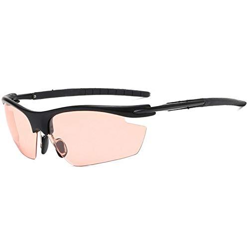 NSGJUYT Bici de la Bicicleta for Hombre Gafas de Sol Gafas de equitación Pesca Mujeres de los vidrios de Sol polarizadas de conducción de los vidrios (Color : CL006)