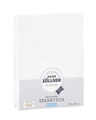 Zöllner Spannbetttuch, wasserdicht, PVC frei - 70 x 140 cm
