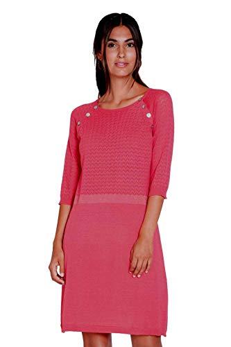 Milker Maja - Robe d'allaitement Coton Rouge Taille M