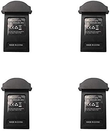 LanLan EX2mini B3MINI B3 Mini RC Quadricoptère Pièces de Rechange 7.4V 850mAh Batterie Lipo 4 pcs