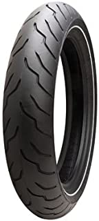 Dunlop American Elite Front Motorcycle Tire MT90B-16 (72H) Narrow White Wall for Harley-Davidson CVO Electra Glide Ultra Classic FLHTCUSE 2006-2008