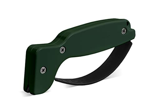 AccuSharp Knife & Tool Green Sharpener - Diamond-Honed Tungsten Carbide...