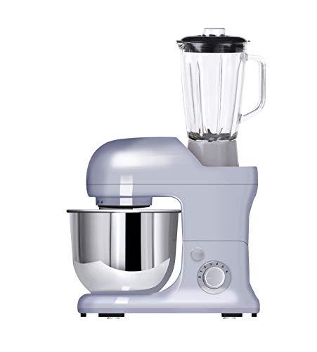 OHMEX OHM-SMX-9890 Küchenmaschine, 1300 W, Kapazität 5 l, 6 Geschwindigkeitsstufen, Überhitzungsschutz