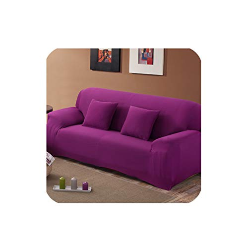 MOMO Sofa Cover Solid Covers Sofa Color Slipcover Sofa for Sofa Towel Living Room Furniture Protective Armchair Couches Sofa 1/2/3/4,15,Three Seat Sofa