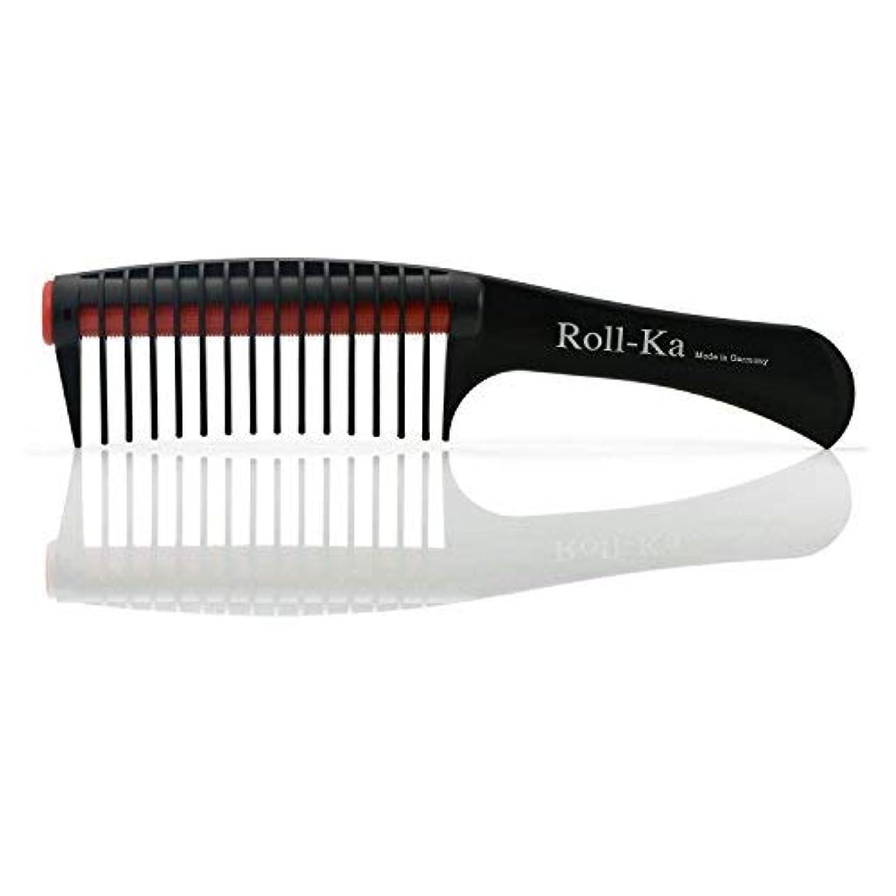 オリエンテーション操作物理Triumph Technic Roll-Ka Anti Splicing Hair Comb 9