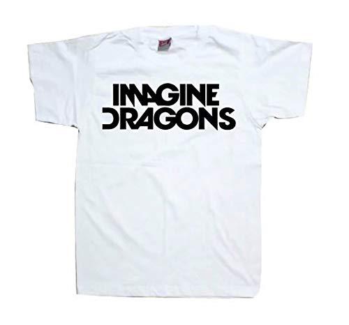 Stel je Draken T Shirt Indie Rock Band Dan Reynolds Bastille Nieuw Album Concert