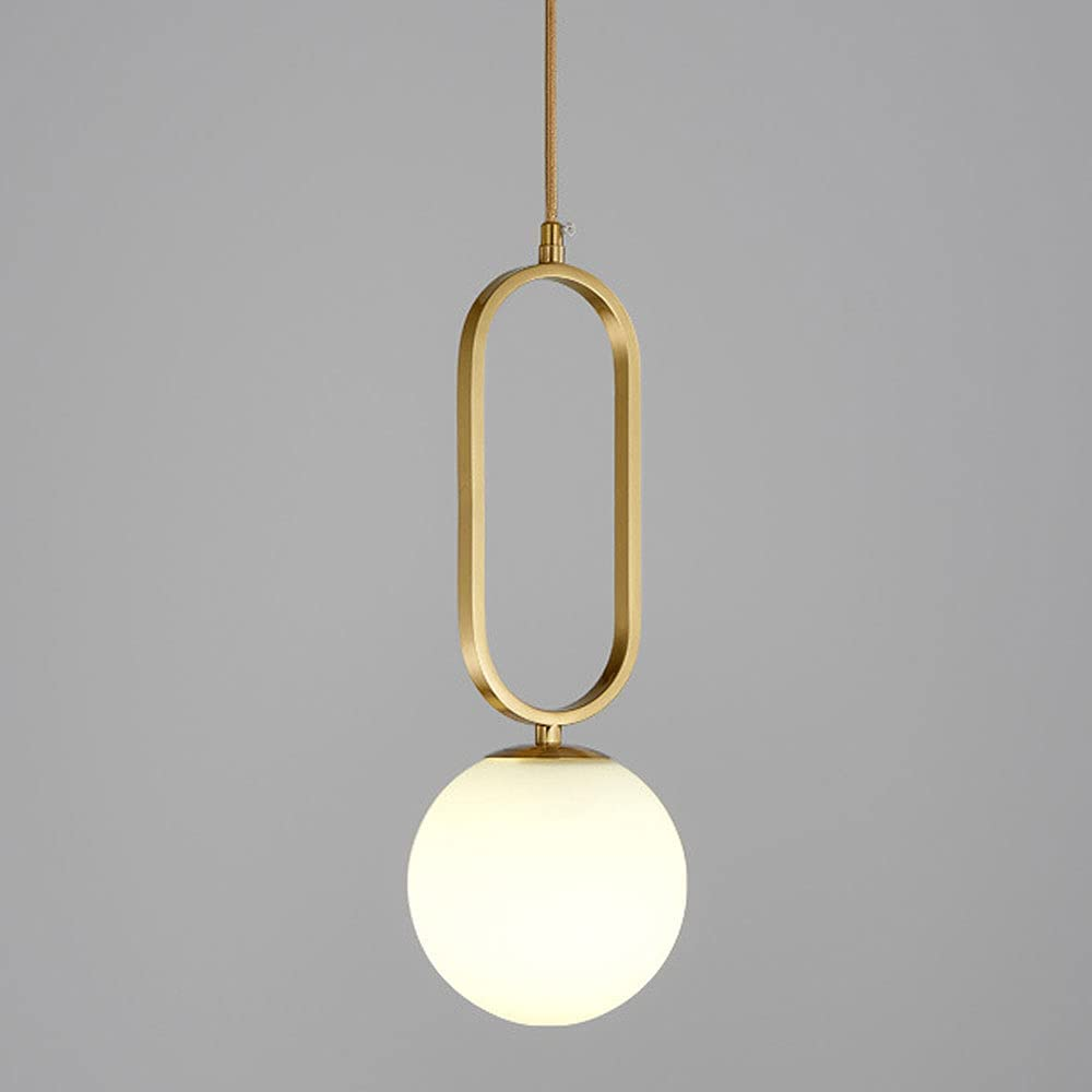 [Alternative dealer] NAMFMSC Popular popular Nordic Minimalist Glass Lighting Light E27 Sourc Fixture