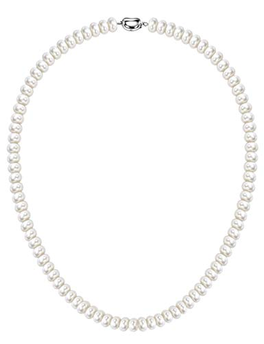 Mints Freshwater Cultured Pearl Strands Necklace Sterling Silver Fine Jewelry for Women 18
