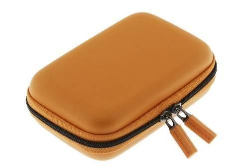 Moleskine Travelling Collection / Hülle / extraklein / für Schlüssel, Geldschein, Kreditkarte / Kadmiumorange