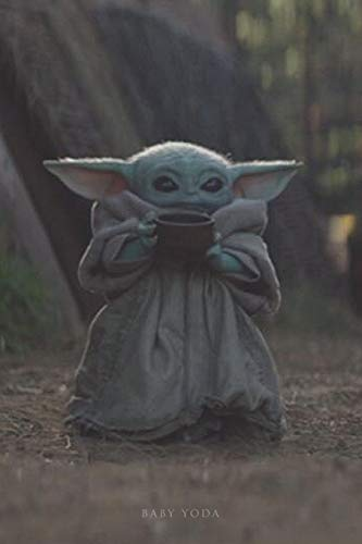 Baby Yoda: Writing Journal - Notebook - Diary - Notepad