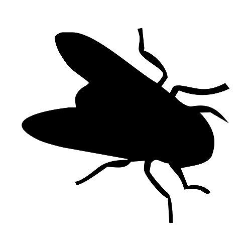 5-er Set - Pissoir-Zielhilfe, Urinal-Zielhilfe, Zielhilfe für Pinkelbecken - Fliege