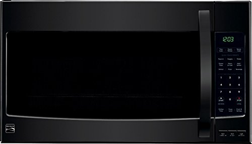 Kenmore Over the Range Microwave Hood Combination Oven 2.1 Cu. Ft. 1000 Watts Black 80359