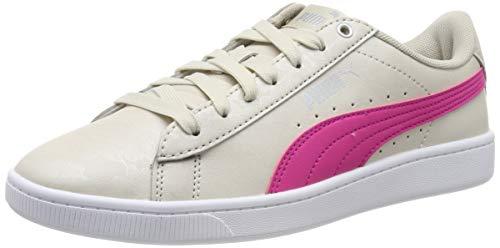 Puma Damen Vikky v2 Summer Pack Sneaker, Rot Gray-Fuchsia Purple Silver, 37 EU