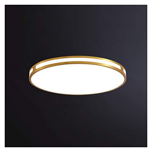 Lámpara de Techo Lámpara de techo ultra delgada lámpara de dormitorio redonda simple moderno balcón lámpara de habitación moderna foco de techo para cocina sala de estar lámpara de techo led