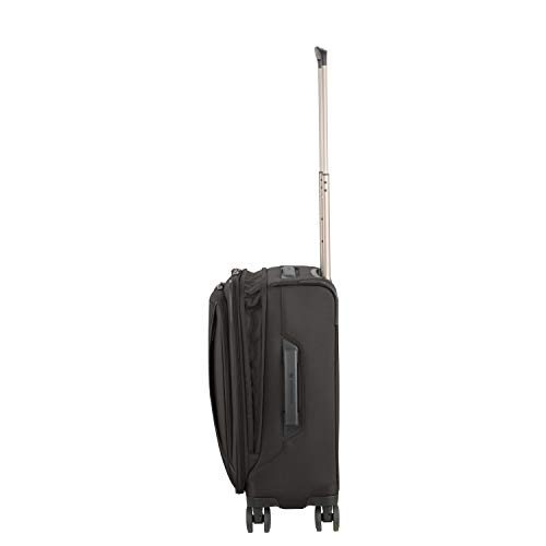 Victorinox WT 6.0 Softside Spinner Luggage, Black, Carry-On, Frequent Flyer (22')