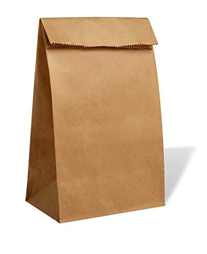 lunch sacks PAVILIA Kraft Paper Lunch Bags 30-pc