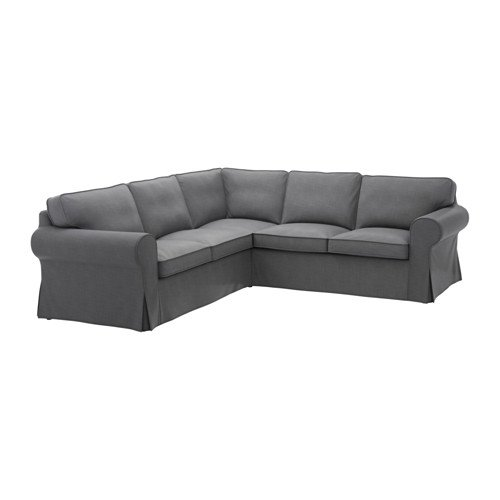 Ikea Cover for 4-seat corner sectional, Nordvalla dark gray 628.8811.66
