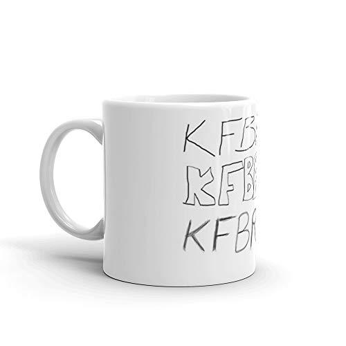 KFBR392 KFBR392 KFBR392 Mug 11 Oz White Ceramic
