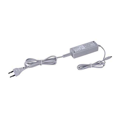 LeftSuper Adaptador de CA de Pared Universal 100 240V Cargador de Corriente Cable de Cargador de Gamepad Cable de Cargador de Fuente de alimentación para Consola Nintend Wii U