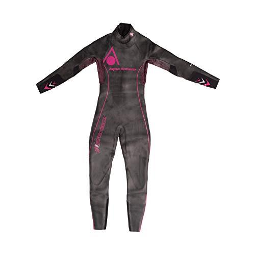Aqua Sphere Phantom Maillot de Wet Suit-Black/Rose, XS M Noir/Rose