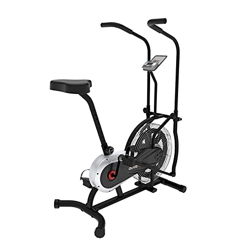 FLHLH Esercitare Una buona Bici da Fan per la Famiglia Cardio Workout Stazionario Cycling Cycling Bici da Ciclismo Bicicletta con LCD. Tenere sotto Controllo