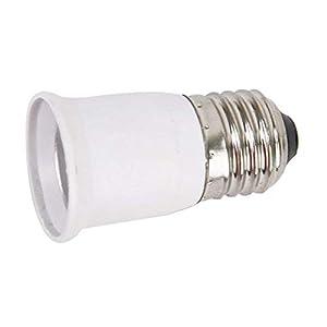 Douille de lampe pratique E27 Support de lampe Support de conversion Support de lampe PBT ignifuge Matériau Support de lampe de conversion de vis 1 Pcs Robuste et pratique Portable et utile
