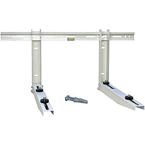 Staffa regolabile per unità esterna climatizzatore 500x800 mm portata Kg140 (Kg420)
