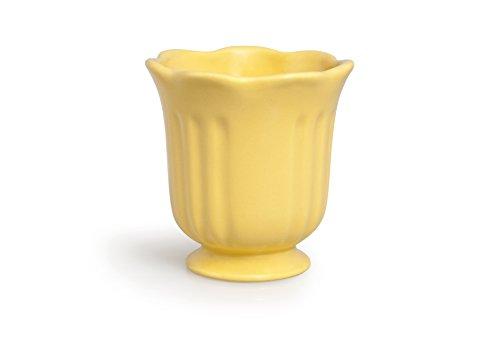 Excelsa Country Spa Gobelet Porte Brosse à Dents, céramique, 10 x 10 x 11 cm 10x10x11 cm Paille