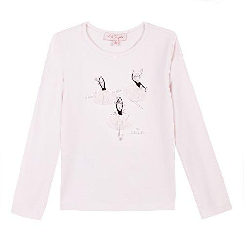 Lili Gaufrette Ledrole Camiseta, Beige (Blush 302), 2 años (Talla del Fabricante: 2A) para Niñas